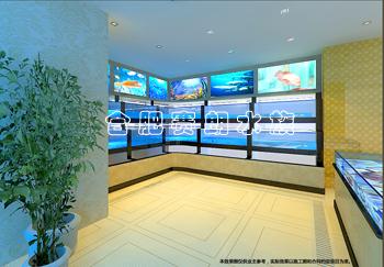 合肥海鲜鱼缸专业之选--山海宴大酒店海鲜池开工!